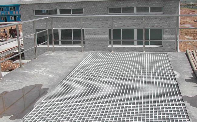 平台钢格板案例