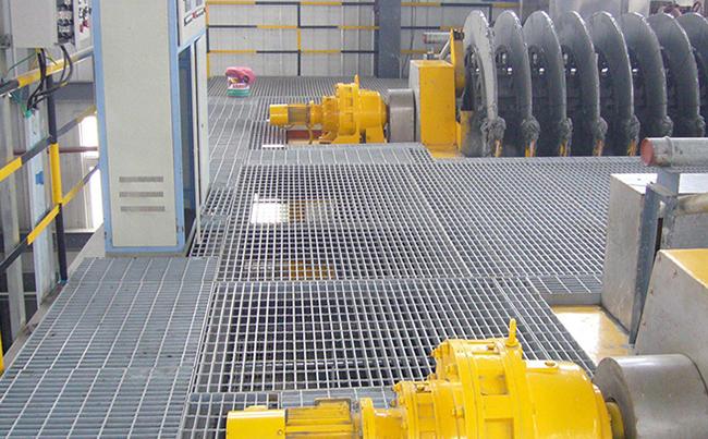 重型钢格板案例